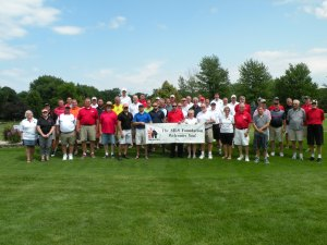 MLS Alumni enjoying time at the Cardinal Classic